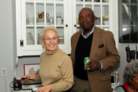 Pauline Smith (host) and photographer, Bill Chisolm