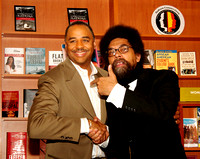 Cornel West at Hue-Man Bookstore 040