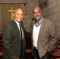 Harry Belafonte and Danny Simmons