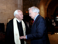 Dr. Robert Seymour and Bill Moyers
