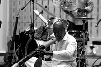 Craig Jarris at Marcus Garvey Park for Jazzmobile